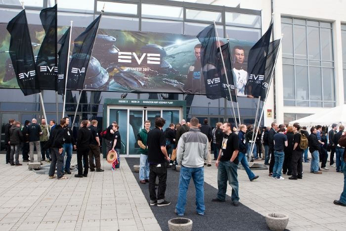 EVE Online Festival Attendees