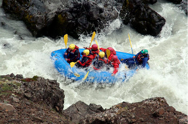 East Glacier River rafting